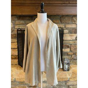 Eileen Fisher Open Textured Woven Blazer Jacket